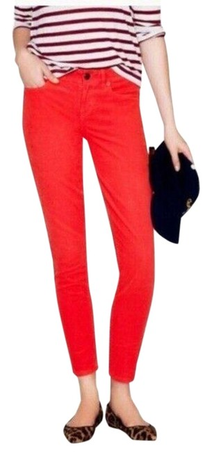 Item - Red Toothpick Skinny Jeans Size 24 (0, XS)
