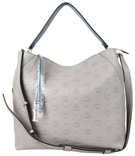 Item - Crossbody Klara Large Mwh7skm55iv001 Dove Gray Leather Hobo Bag