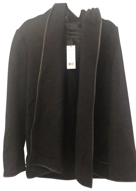 Item - Double Face Wool Hooded Jacket Size 8 (M)