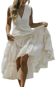 Cream Maxi Dress by Spell & the Gypsy Collective