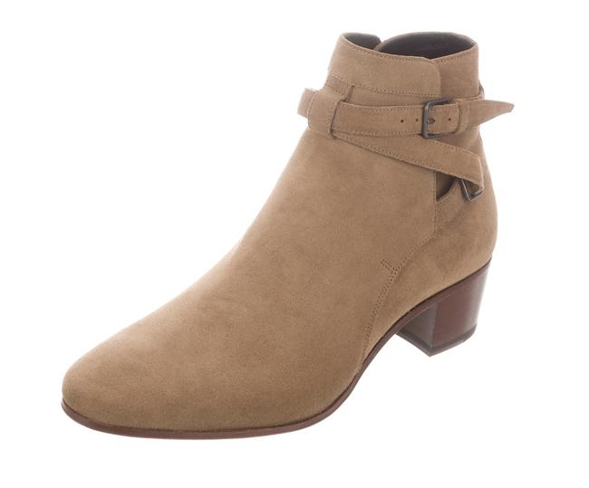 Item - Camel Beige Tan Suede Ankle Boots/Booties Size EU 36.5 (Approx. US 6.5) Regular (M, B)