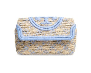 Tory Burch cream Clutch