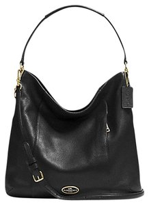 768ef3485f16 Coach New Isabelle Classic Slouch Slouchy Hobo Leather Soft Pebbled Duffle  Convertible Crossbody Strap Handbag Zip