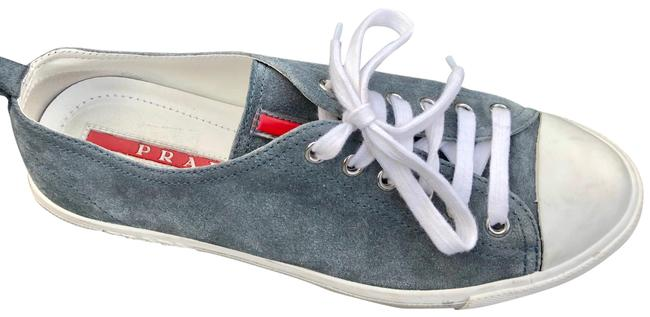 Item - Blue Gray Calzature Donna / Scamosci Sneakers Size US 8 Regular (M, B)
