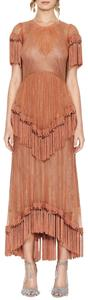 alice McCALL Fringe More Than Gown Bohemian Tassels Lace Dress