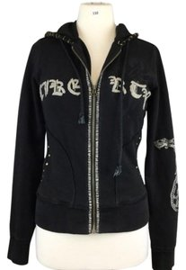 Yag Couture Black Womens Jean Jacket