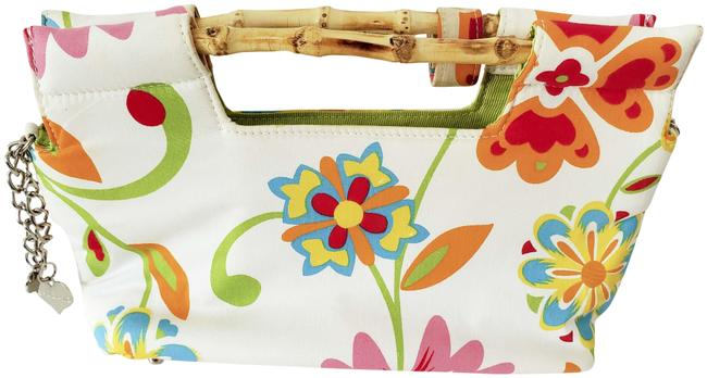 Item - Clutch Summer Floral Cotton Baguette