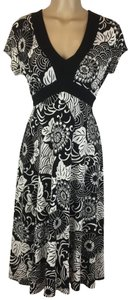 Ruby Rd. short dress Black & White on Tradesy