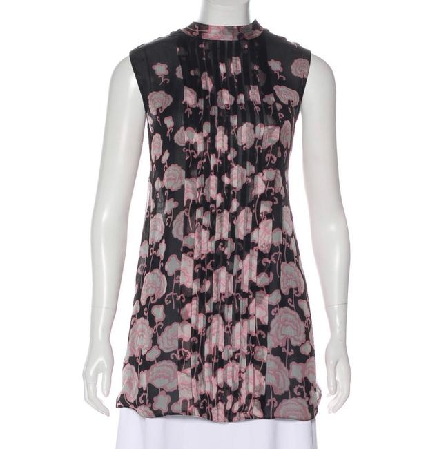Item - Black Heather and Pink Blouse Size 8 (M)