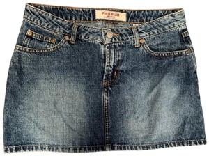 Paris Blues Mini Skirt denim