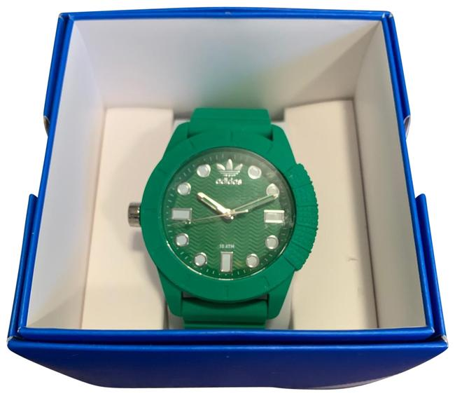 Item - Green Unisex 1969 Silicone Watch