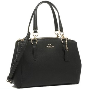 Coach Satchel in IMITATION GOLD/BLACK