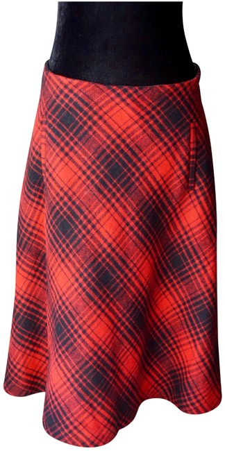 Item - Red & Black Foxford Plaid Paul Joe Sister Nwot Skirt Size 10 (M, 31)