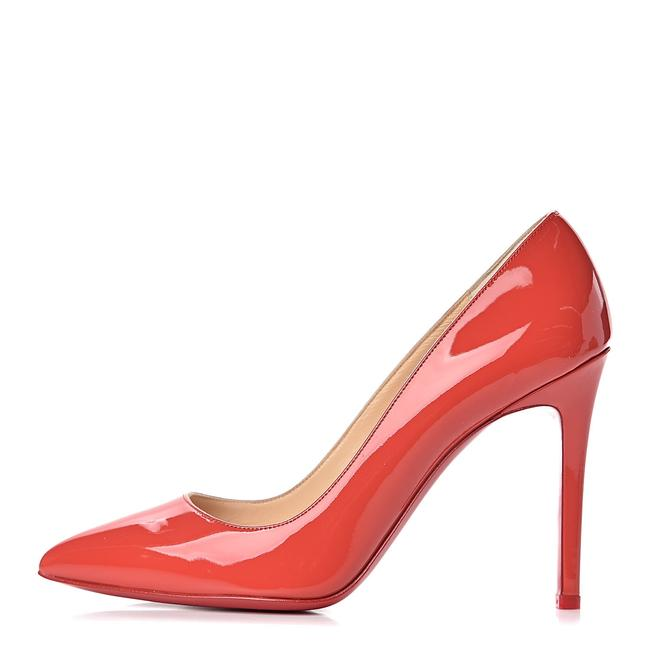 Item - Pink Pigalle Follies 100 Coral Patent Leather Classic Pumps Size EU 38.5 (Approx. US 8.5) Regular (M, B)