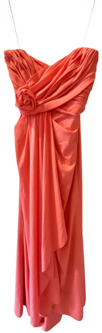 Item - Coral Pink 545 Long Formal Dress Size 4 (S)