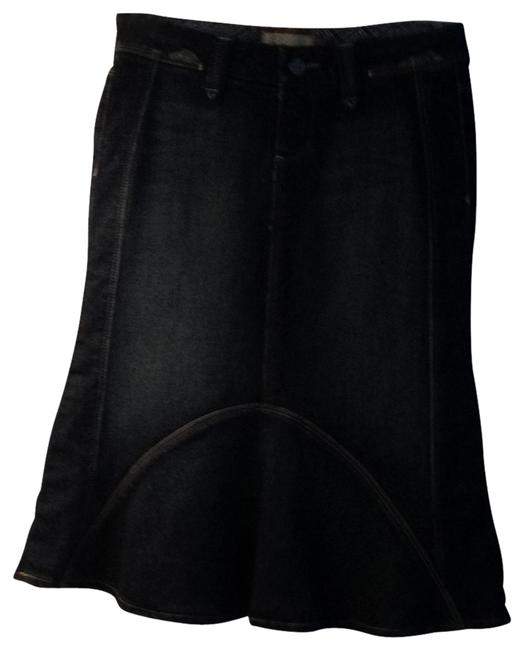 Paige Perfect Condition Jean Skirt denim