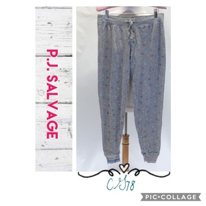 P.J. Salvage Relaxed Pants Gray/Multicolor