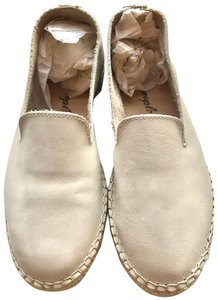 Free People Espadrille Leather Summer White Flats