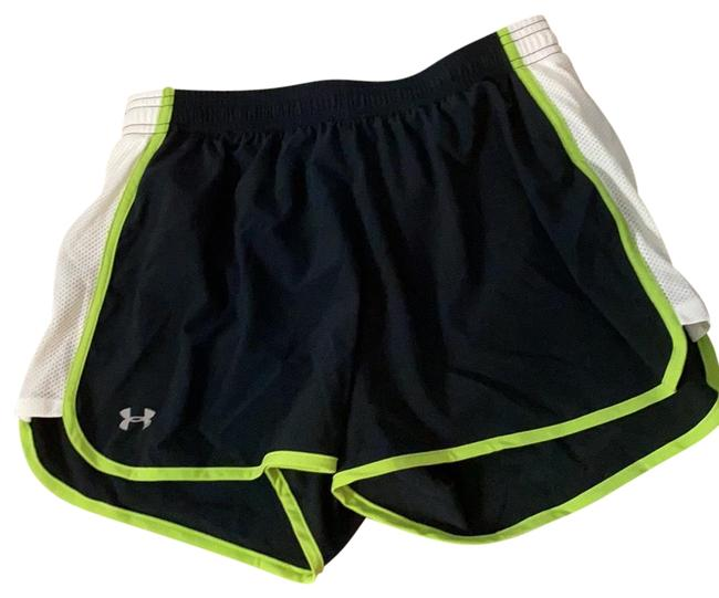 Item - Black /Lime Green/ White Activewear Bottoms Size 4 (S)