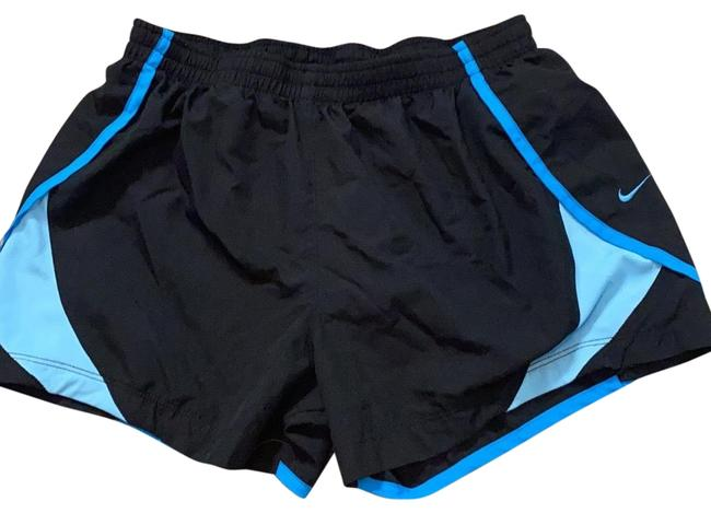 Item - Black/Blue Workout Activewear Bottoms Size 8 (M)