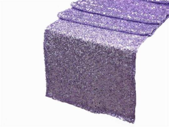 Your Choice 10 Sequin Table Runners Glitter Sparkle Glam Bling Color Tablecloth Image 5
