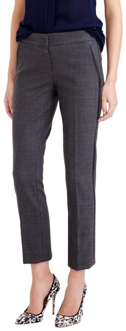 J.Crew Gray Campbell Tuxedo Crops Pants Size 0 (XS, 25) J.Crew Gray Campbell Tuxedo Crops Pants Size 0 (XS, 25) Image 1