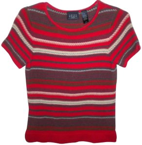 Crazy Horse by Liz Claiborne Short Sleeve Sweater