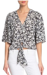 1.STATE Button Down Shirt 50% OFF/NEW!! Rich Black