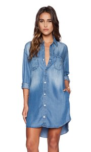 Black Orchid Denim short dress Over the Rain Blue Fall Style Spring Style on Tradesy