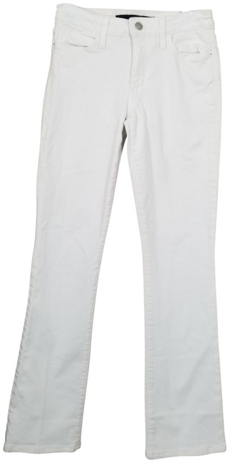 Item - White Curvy Boot Cut Jeans Size 26 (2, XS)