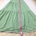 Old Navy Green and White Casual Maxi Dress Size 2 (XS) Old Navy Green and White Casual Maxi Dress Size 2 (XS) Image 3