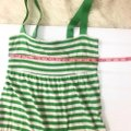 Old Navy Green and White Casual Maxi Dress Size 2 (XS) Old Navy Green and White Casual Maxi Dress Size 2 (XS) Image 4