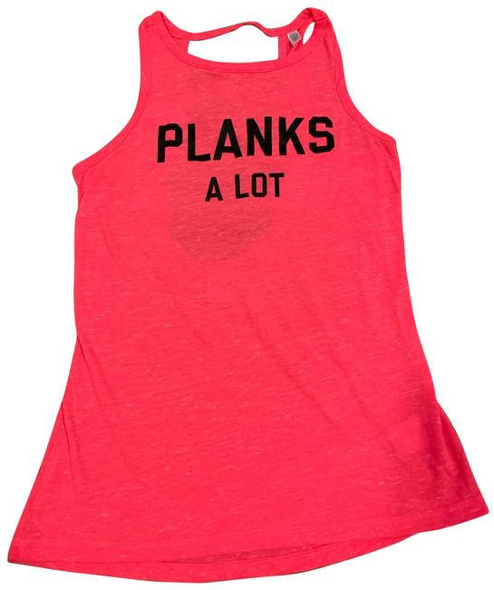 Item - Pink Planks A Lot Workout Activewear Top Size 2 (XS)