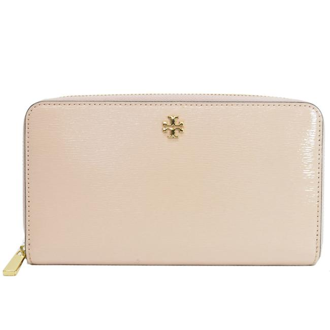Item - Gold / Pink Long Patent Leather Round Zipper Ladies 52187a Wallet