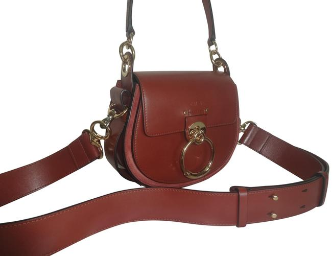 Item - Small Tess Brown Leather Cross Body Bag
