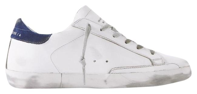 Item - White Off White Blue Superstar Sneakers Size EU 42 (Approx. US 12) Regular (M, B)