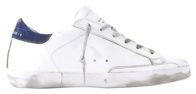 Item - White Off White Blue Superstar Sneakers Size EU 38 (Approx. US 8) Regular (M, B)