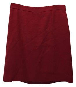 Barbara Bui Mini Skirt Burgundy