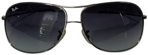 Ray-Ban Ray-Ban Unisex Silver Aviator Glasses 64 MM- RB 3267