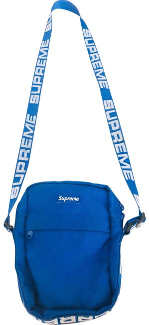 Item - Crossbody Blue Fabric Shoulder Bag