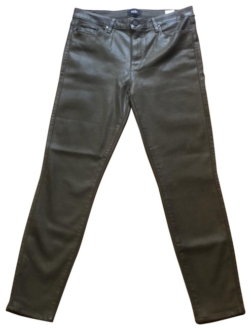 Item - Green Hoxton Ankle Skinny Jeans Size 12 (L, 32, 33)