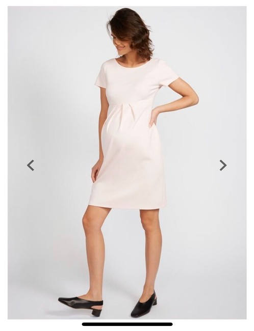 Item - Pink Tierney Mid-length Work/Office Dress Size 6 (S)