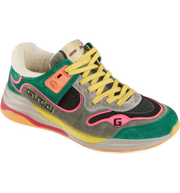 Item - Green/Multi Ultrapace Sneakers Size EU 36 (Approx. US 6) Regular (M, B)