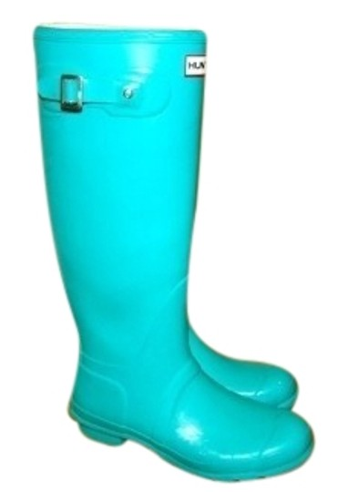 Preload https://img-static.tradesy.com/item/27493/hunter-turquoise-bootsbooties-size-us-9-regular-m-b-0-1-540-540.jpg