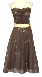 Odille short dress Brown on Tradesy