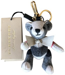 Burberry Thomas Bear Charm in Vintage Check Cashmere. Designer Style ID: 8003322