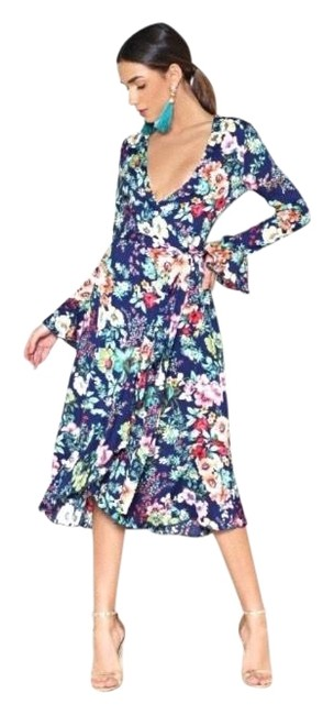 Item - Do You Know Where You're Growing To Floral Mid-length Casual Maxi Dress Size 4 (S)