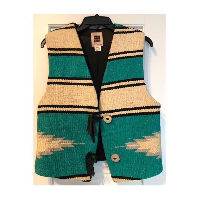 Item - Green Southwest Blanket Vest Size 8 (M)