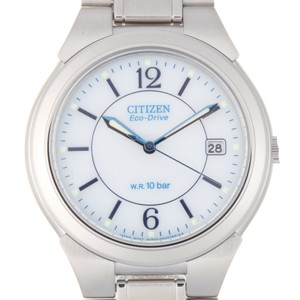 Citizen CITIZEN Collection Forma Eco-Drive Mens Watch FRA59-2202 E111-S027161 Stainless Steel White Dial