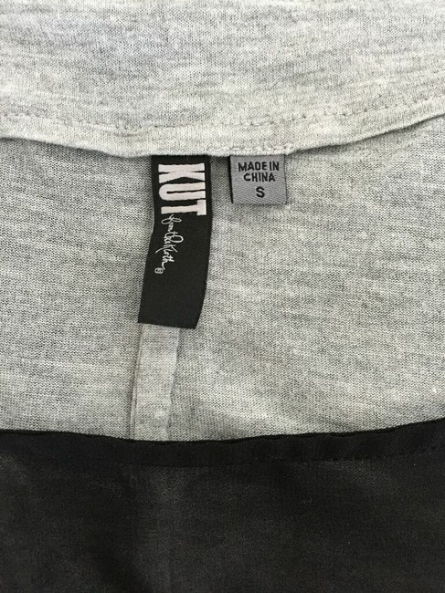 KUT from the Kloth T Shirt Black and grey